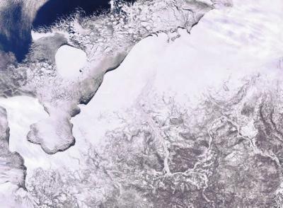 El Ártico, en la parte noroeste de Rusia