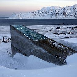 El silo que alberga 100 millones de semillas en Svalbard (Noruega)